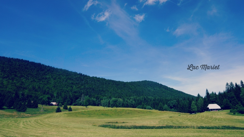 lac mariet -Arith-Massif des Bauges Miss Thelma