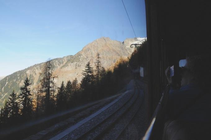 train de montenvert - miss thelma