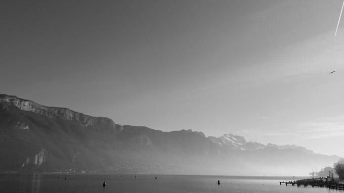 miss thelma - 1 an avant - janvier 2015- lac d'Annecy